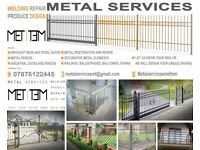 Metal services Gates, Fences, Balustrades, in Manchester, Trafford, Altrincham, Hale, Sale,and more.