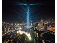 Apartments in the tallest tower in the world - Burj Khalifa - Downtown Dubai