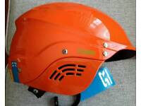 New Shred Ready Standard Full Cut Safety Orange KAYAKING HELMET