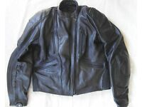Frank Thomas Ladies leather motorcycle jacket
