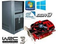 Gaming PC, Intel 3.06GHz, HD 5750 ddr5, 4GB Ram DDR3, 320GB HD, HDMI