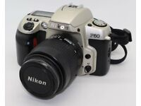 NIKON F60 35mm SLR Camera With Nikon AF Nikkor 35-80mm f/4.0-5.6 D lens