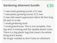 Gardening allotment bundle