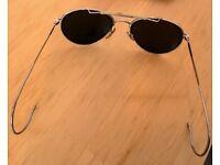 WW2 Bausch & Lomb 1944 AVIATOR - Pre Ray-Ban Sunglasses c/w Steel Case - £99.00