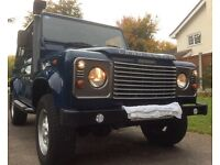 Land Rover Defender 90 Td5 station wagon. FSH. 2003