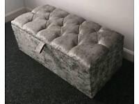Brand New Cube/Monaco ottoman storage / blanket box