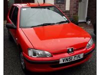 Peugeot 106 1.1i Zest 2002 (51) 70,000 miles ***Spares or repair***