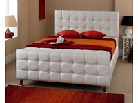 Brand New Faux Leather Bed
