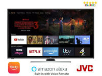 """JVC LT-50CF890 Fire TV 50"""" Inch Smart 4K Ultra HD HDR LED TV with Built-in Amazon Alexa"""