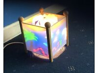 Nursery rotating night lantern, colourful light show