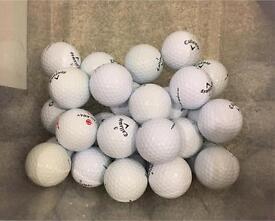 30 Callaway Grade A golf balls