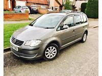 2007 / 57 VW VOLKSWAGEN TOURAN SPORT TDI 7 SEATER CRUISE CONTROL HPI CLEAR