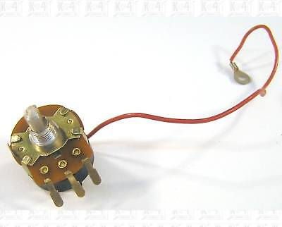 Potentiometer 1m Ohm 1000000 Ohm 3a 125v Switch --no Nut--