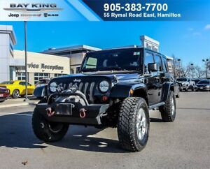 2013 Jeep WRANGLER UNLIMITED UNLIMITED SAHARA 4X4, MANUAL, PWR L