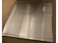 Two aluminium Venetian Blinds 160cm and 180cm