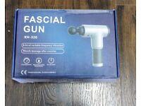 HANDHELD MASSAGE GUN - PORTABLE - ADJUSTABLE SPEED SETTING - BRAND NEW - PRICES STARTING AT £30