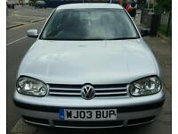 2003 Volkswagen Golf 1.6 Petrol Manual 5 Door Hatchback