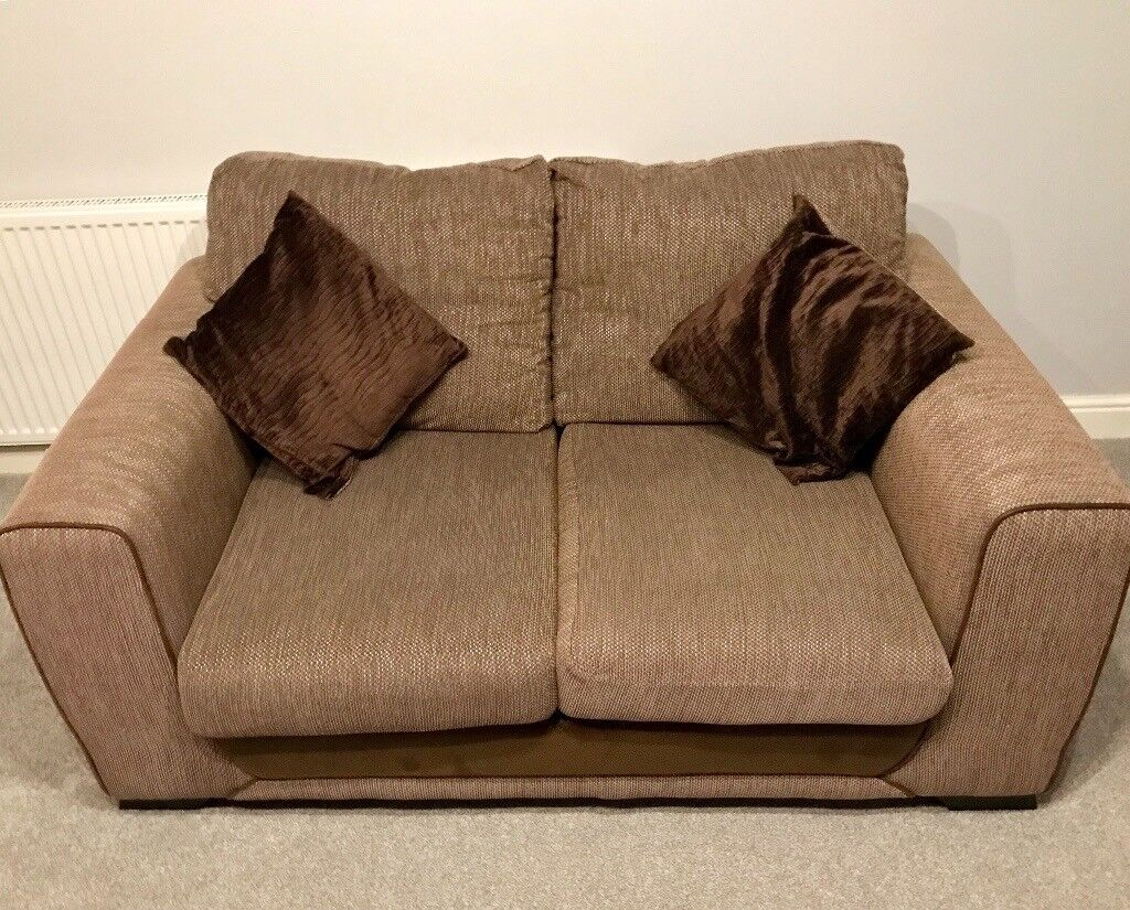 Scs Brown Sofa Suite 2 Seater And 3 Seater In Chesterfield Derbyshire Gumtree