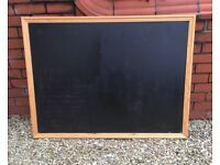 cafe menu / chalk board. 128 cms x 97cms. c/w set of Zig 'Posterman' pens.