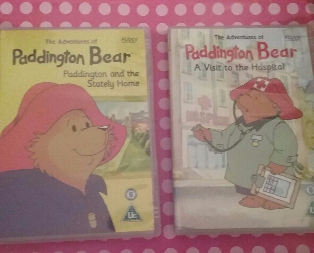 Paddinton bear dvd set