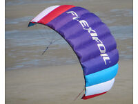 Flexifoil Big Buzz Kite - Violet 1.6m2 (205cm wing span) Brand New, Sealed with tags. RRP £80