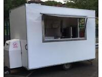 Catering trailer with busy pitch in DY5