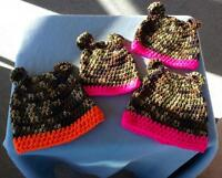 Baby and Toddler CAMO hats