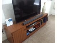 Wooden TV & Entertainment Stands with Storage area