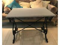 Vintage converted sewing table