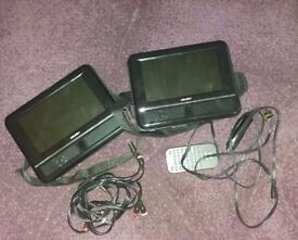 twin dvd player for car