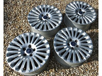 "Set of 4 Genuine Ford 16"" alloy wheels from 2010 Focus Titanium. Good condition"