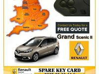 Key card Not Detected ? Renault Key Card replacement for Renault Megane Scenic Laguna Espace Clio