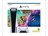 PS5 Disc : Ratchet & Clank: Rift Apart PlayStation 5 Console Bundle - Brand New In Box