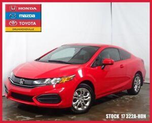 2014 Honda Civic LX+BLUETOOTH+SIEGES CHAUFFANTS+A/C