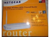 NETGEAR WiFi ADSL Broadband Router