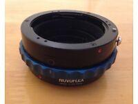 Novoflex Pentax PK to Micro Four Thirds Lens Adapter