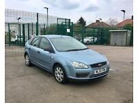 2006 Ford Focus 1.6 TDCI - 5 Doors, Blue, Diesel, Manual, Economical, NEW 12 MONTHS MOT AND FSH