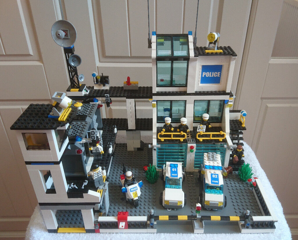 Lego Police Hq With Original Box And Plans In Southport Headquarters 7744 Merseyside Gumtree