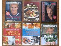 Gordon Ramsay Cookbooks x 6