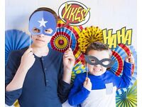 Paper love — Comic, Superhero Photo Props Party Decoration