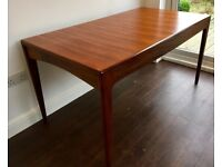 Vintage Extending Dining Table Youngers Mid Century.