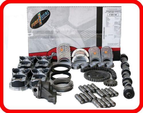 99 00 01 Gmc Sierra Yukon  293 4.8l Ohv V8  Master Engine Rebuild Kit