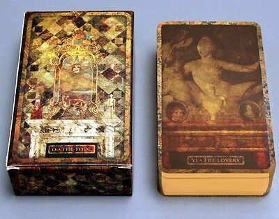 TYLDWICK TAROT LIMITED EDITION MALPERTUIS DESIGNS - 78 CARDS - NIB