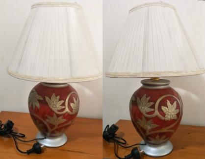 Bed side table lamp in rockdale garden