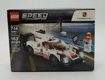 LEGO Speed Champions Porsche 919 Hybrid Set 75887 163 pc Brand New Sealed in Box