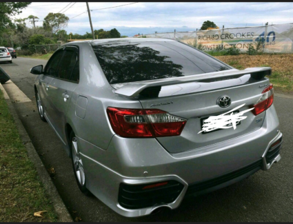 Toyota aurion SX6 2012 hire car or uber