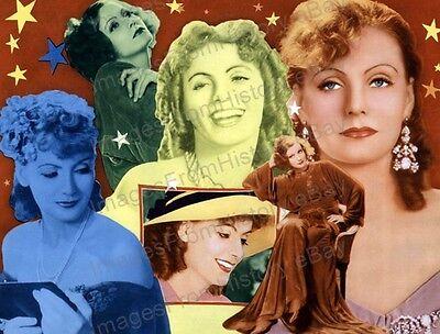 8x10 Print Greta Garbo Beautiful Lobby Card #GG102