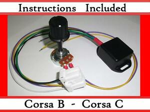 Corsa B C - Kit - Electric power steering controller box - With ECU plug - EPAS