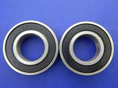 2 Stück 6205 2RS (25x52x15 mm) Kugellager, Rillenkugellager