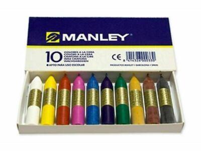 Ceras blandas Manley 10 Colores